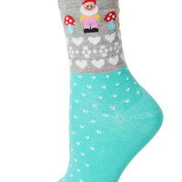 Green Garden Gnome Socks - New In This Week - New In - Topshop USA