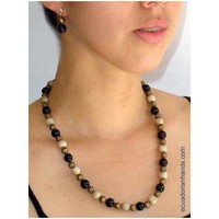 Arena Necklace and pendants made out of Tagua Exotic Ivor | Tagua Necklaces | Tagua Earrings