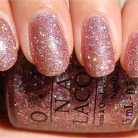 OPI NAIL POLISH Teenage Dream Katy Perry Collection K07 Glitters Sparkling Pink