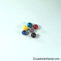 Pearls 9mm Tagua Bead | Tagua Bead for Beading Jewelry: Pearls | EcuadorianHands.com