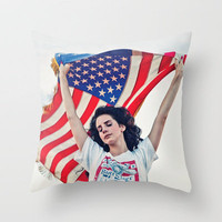 RIDE - LANA DEL REY Throw Pillow by Deeivid Moreno | Society6
