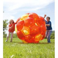 "Amazon.com: HearthSong GBOP Incred-a-Ball - 65"" Inflatable Ball: Toys & Games"