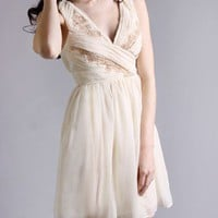 Minuet Sugar Coated Grecian Dress in  Dresses at Frock Candy