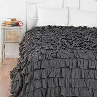 Waterfall Ruffle Duvet Cover