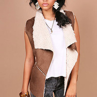 Hunter Fleece Vest - Faux Vests at Pinkice.com