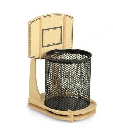 Cool Basketball Stand Pencil Holder From Hallomallartfire On