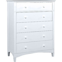 5-Drawer Chest | Northern White Collection | FOW