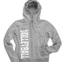 Amazon.com: Katz Zip Hoodie Volleyball: Clothing
