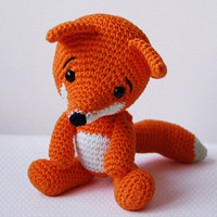 Amigurumi Pattern - Lisa The Fox on Luulla