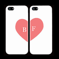 best bitches cases one for you one for your best friend friends /bitch iPhone 4 iPhone 4s iPhone 5 pink heart trendy