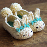 Toddler Bunny Slippers Tot Hops Tod.. on Luulla