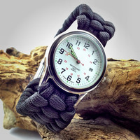 Paracord Watch with Adjustable Shackle