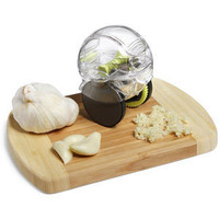 ThinkGeek :: Garlic Zoom XL [garlic mincer]