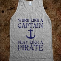 Play Like A Pirate - Cool Night Clothing
