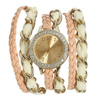 Chiffon Chain Wrap Watch | Shop Accessories at Wet Seal