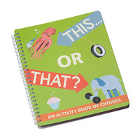 THIS OR THAT ACTIVITY BOOK | By Robert Stites | UncommonGoods