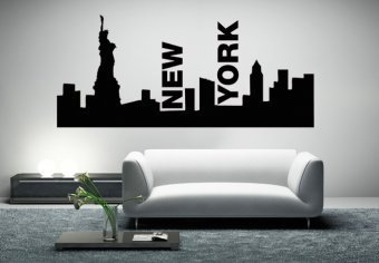 New York Skyline - Wall Decals | My Wall Decal Shop | Decorating Ideas & Wall Stickers