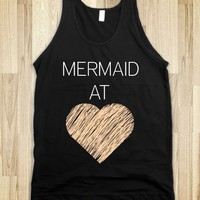 Mermaid At Heart Tank - Disney Craze