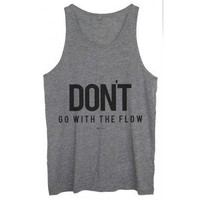 Tank top Unisex Flow Grey