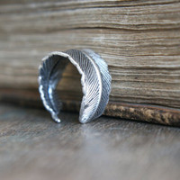 Athena Ring - Silver - &amp;#36;12.00 : Pangea Handmade, Vintage-Inspired Jewelry and Accessories