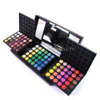180 Pro Full colors makeup eyeshadow palette eye shadow make up tool brush W012