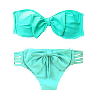 Brazilian Bikini Set in Seafoam
