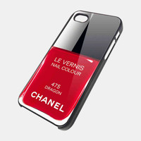 Chanel Nail Polish Dragon NDR  iPhone 5 Case  by CaseApartment