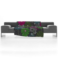 Khristian A Howell Cape Town Blooms Fleece Throw Blanket