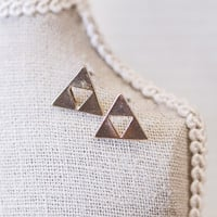 Triforce Zelda Earrings