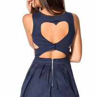 Femme Fatale dress in navy  | Show Pony Fashion online shopping