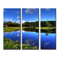 Create a Modern Triptych with Your Photos on Canvas Splits