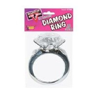 Amazon.com: Forum Novelties 57785 Bachelorette Outta' Control Ultimate Diamond Ring - Size Does Matter: Toys & Games