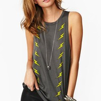 Lightning Bolt Muscle Tee