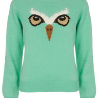 Owl Face Jumper By Emma Cook For Topshop - Emma Cook  - Designers