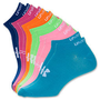 Womens Under Armour Bright Liner Socks 6 Pack NWT CLOSE OUT SALE