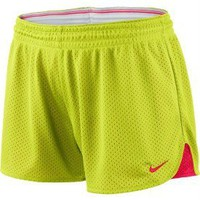 NEW Womens Nike Dri-Fit 3.5&quot; Hero Mesh Training Shorts Running/workout SZ Small
