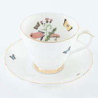 Ali Miller London — tea cup and saucer - growing