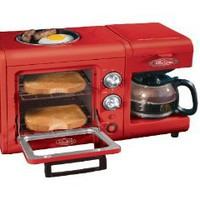 Amazon.com: Nostalgia Electrics BSET100CR 3 in 1 Breakfast Station: Kitchen &amp; Dining