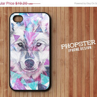 20% OFF Apple iPhone case for iPhone -  iPhone 4 iPhone 4s iPhone 5: WOLF 214