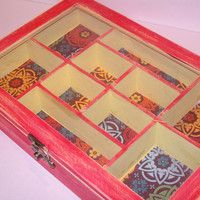 Moroccan Style Shabby Jewelry Box