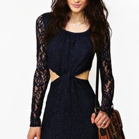 Knotted Lace Dress