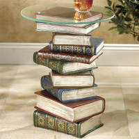 Stacked Books Table - Furniture, Home Decor & Home Furnishings, Home Accessories & Gifts | Expressions
