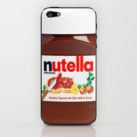 Nutella iPhone &amp; iPod Skin by Nicklas Gustafsson | Society6