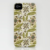 Seek Knowledge Folk Art Pattern iPhone Case by Alexandra Cook Aka Linandara | Society6