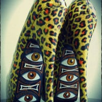 Tiki Eyez by The Tattoo Shoe
