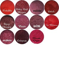 Matte Red Eyeshadow 5 Gram Jar Mineral Makeup