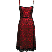 Lucky 13 - Lash Out Lace Dress
