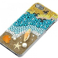Nice Handmade Coast Rhinestone Case for Iphone 4/4s