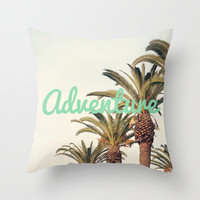 Adventure Throw Pillow by CMcDonald | Society6
