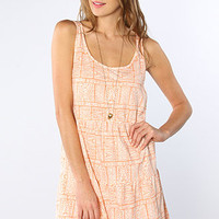 ONeill The Amped Side Strap Dress in Cantaloupe : Karmaloop.com - Global Concrete Culture